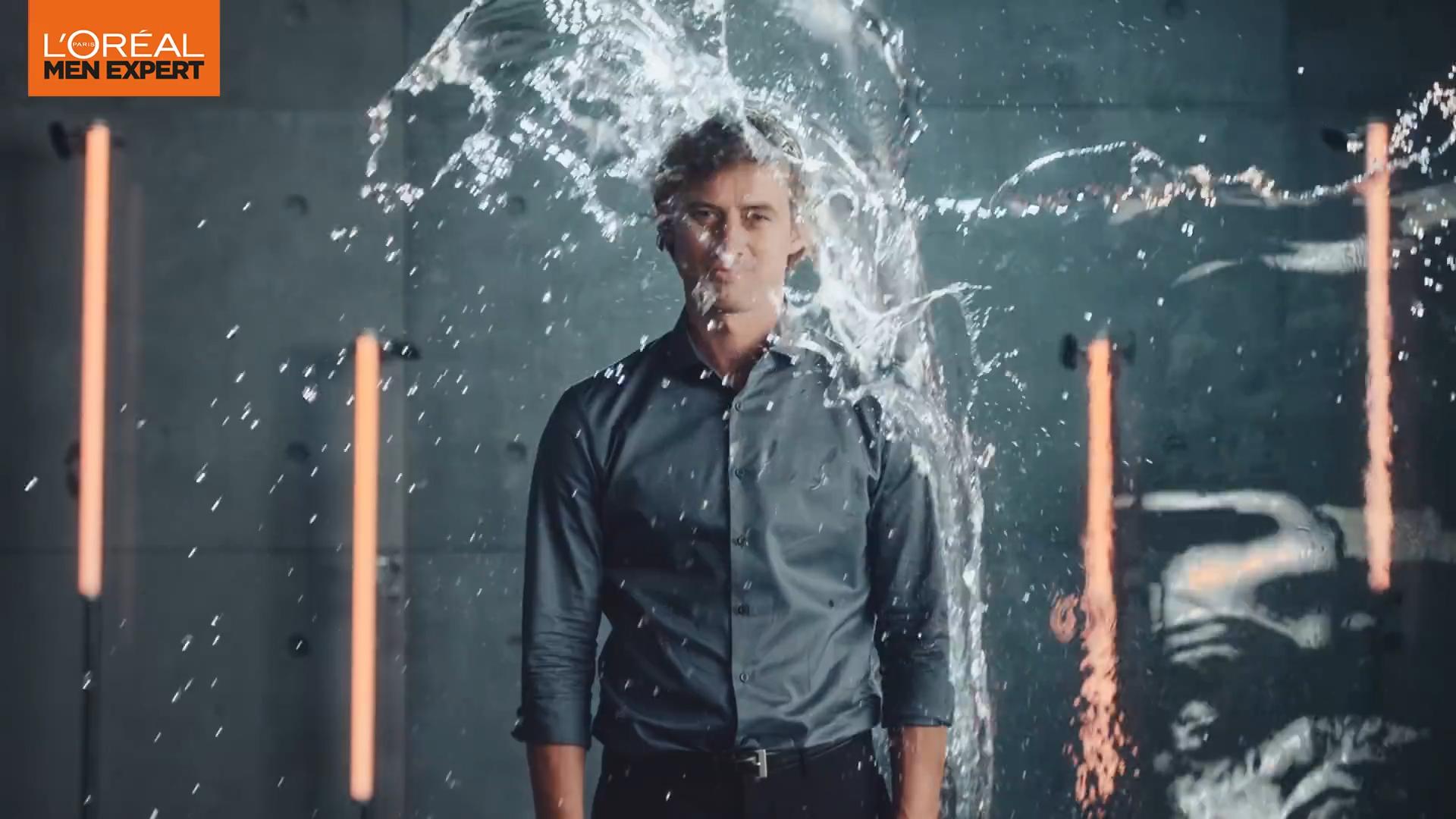 L'Oréal Men Expert: Duschen, Cremen, ab in den Tag.